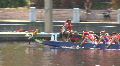 Dragon Boat In The Water Footage