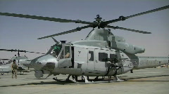 Super Huey Helicopter (HD) m Stock Footage