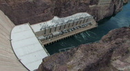 Stock Video Footage of Hoover Dam