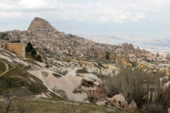 Fairy Chimney city of Göreme Stock Footage