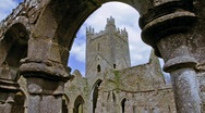 Jerpoint Abbey Stock Footage