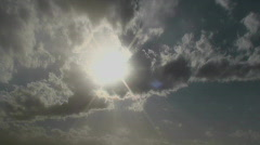 Dramatic Skies Time Lapse Stock Footage