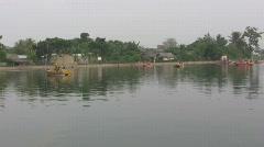 Citayam Lake (1) Stock Footage