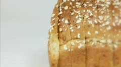 Loaf of Bread Stock Footage