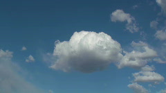 Cloud Taffy Time Lapse Stock Footage