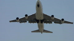 Airliner very low take off  - stock footage