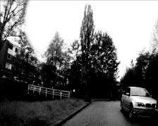 Rijder UtrechtLunetten Stock Footage
