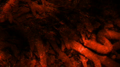 Deep Red Horror Grunge Looping Background Stock Footage