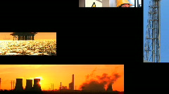 Environmental Montage Stock Footage