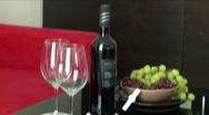Romantic Table  Stock Footage
