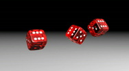 Rolling Dices - Casino 03 (HD) Stock Footage