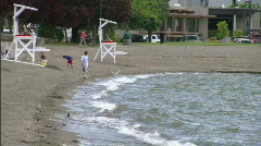 Lake Coeur d'Alene Idaho 2 - stock footage