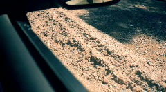 T184 pov off roading shot off road Stock Footage