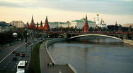 Spring Moscow. Russia. Time Lapse Stock Footage