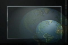5610 earth rotate axis space globe  - stock footage