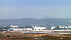 Landing of an international flight 3 Stock Footage