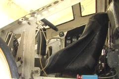 Inside Experimental Solar Cells Car 1 - stock footage
