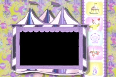 5304 Circus Tent photo picture frame  Stock Footage