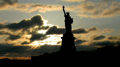 Stock Video Footage of Statue of Liberty