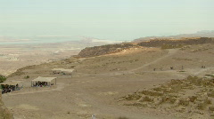 Masada antiquities 2 Stock Footage