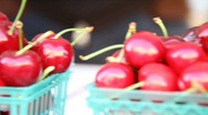 Stock Video Footage of Cherries