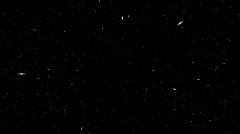 Star Field Warp/Hyperspace(loop) Stock Footage