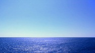 Horizon Over Wate Stock Footage