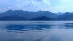 Blue mountains landscape Stock Footage