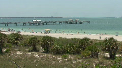 Fort DeSoto Beach - stock footage