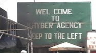 Welcome To Khyber Agency, FATA; Pakistan Stock Footage