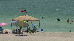 Fort DeSoto Beach Stock Footage
