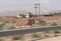 Drive Through the Federally Administered Tribal Areas of Pakistan Stock Footage