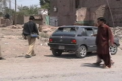 Checking for Car Bombs in Khyber Agency; FATA Stock Footage