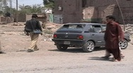 Stock Video Footage of Checking for Car Bombs in Khyber Agency; FATA