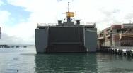 Puerto Rico - Spanish Navy L52 Castilla  1 Stock Footage
