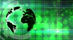 Global information background loop - stock footage