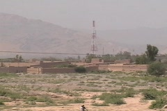 Telecom Tower in Khyber Agency FATA - stock footage