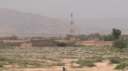 Stock Video Footage of Telecom Tower in Khyber Agency FATA