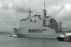 Spanish Navy L52 Castilla  3 Stock Footage