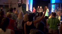 Worship Service (HD) c Stock Footage