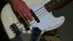 Bass Guitar (HD) c Stock Footage