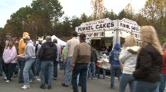 Funnel Cakes (HD) c Stock Footage