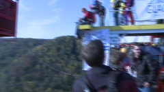 Base Jumping 3(HD) c Stock Footage