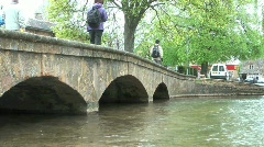 Bourton on the Water 7 of 9 Stock Footage