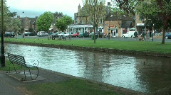 Bourton on the Water 6 of 9 Stock Footage