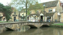 Bourton on the Water 5 of 9 Stock Footage