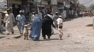 Stock Video Footage of Women in Burqa in FATA