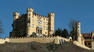 Stock Video Footage of Castle Hohenschwangau