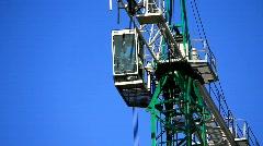 Big lifting crane Stock Footage