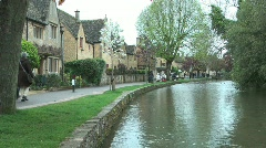 Bourton on the Water 1 of 9 Stock Footage